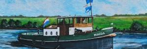 Sleepboot MAGDA uit Nijkerk